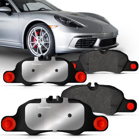 Jogo Pastilha Freio Diant Porsche Cayman S 13 A 15 Low Metal