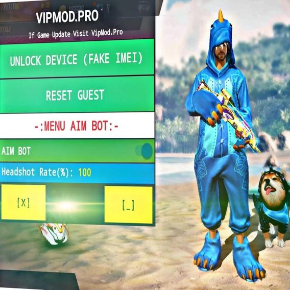 Hack Free Fire Vip Mod (android E Emulador) 100% Antiban Hs.