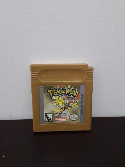 Cartucho Pokemon Gold Nintendo Game Boy Color