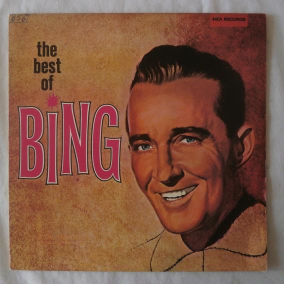 Lp The Best Of Bing Crosby 1977, Vinil Duplo, Jazz
