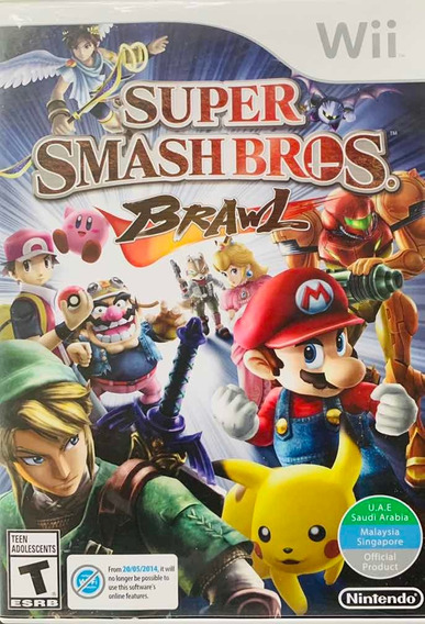 Game Super Smash Bros Para Nintendo Wii