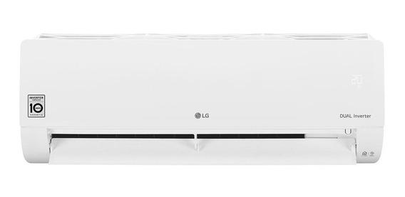 Ar condicionado LG Dual Inverter Voice split frio 12000BTU/h branco 220V S4-Q12JA31C