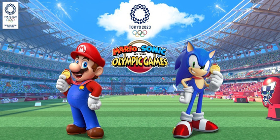 Mario & Sonic At The Olympic Games Mídia Digital Switch
