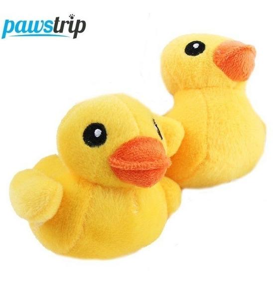 Mini Pelucia Yellow Duck Pato Amarelo Patinho 10cm Plush