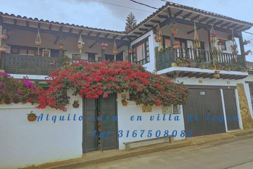 Alquiler Casa En Villa De Leyva Por Dias