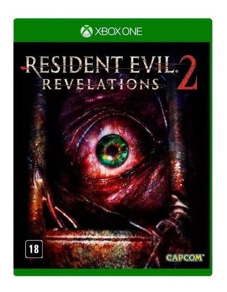 Resident Evil Revelations 2 Xbox One Mídia Física Lacrado