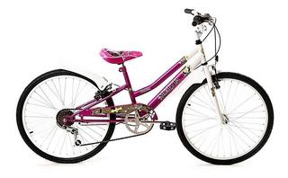 Bicicleta Musetta Rod 24 Fantasy Cambios 6 Vel Envio Grat