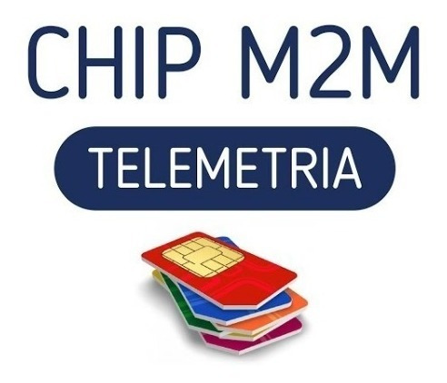 Chip M2m Para Telemetria E Rastreador (conexão Garantida)