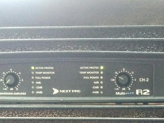 Potencia Amplificador Next Pro R2