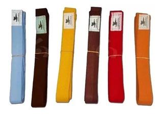 Cinturon Taekwondo Artes Marciales Oriente 2,90m 10 Costuras
