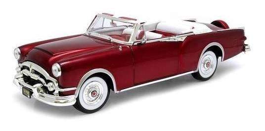 1953 Packard Caribbean Vermelho - Escala 1:18 - Yat Ming