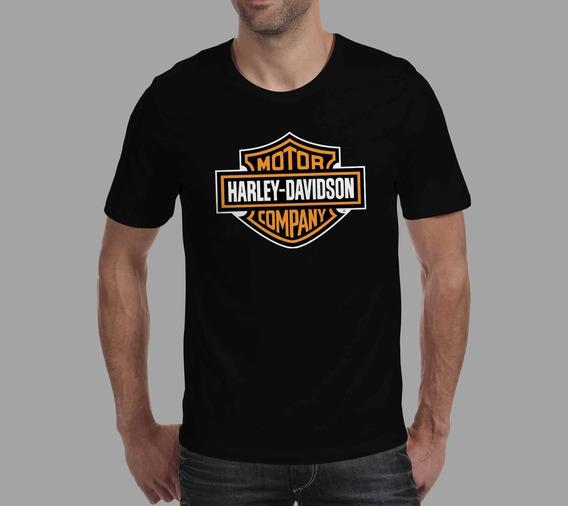 Camiseta Harley Davidson - Preta