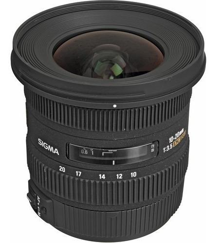 Lente Sigma 10-20mm F/3.5 Ex Dc Hsm P/ Canon - Lj. Platinum