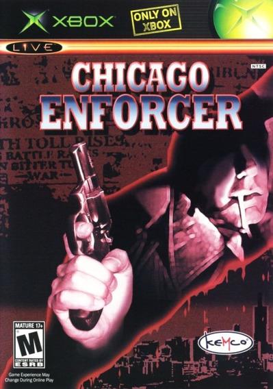 Chicago Enforcer Xbox Mídia Física Usado