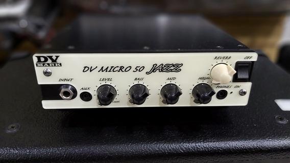 Amplificador P Guitarra Dv Mark Dv Micro 50 Jazz