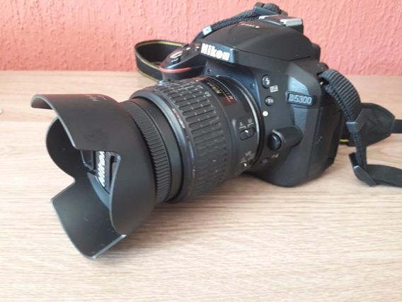 Câmera Nikon D5300, Af-p Dx 18-55mm Vr , 24.2mp, Full Hd,