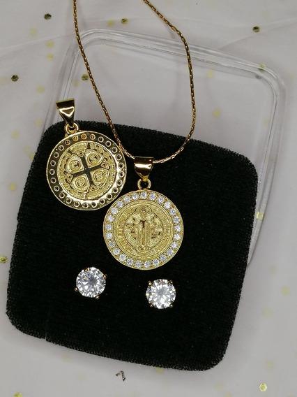 Cadena Con Medalla San Benito Cruz San Benito