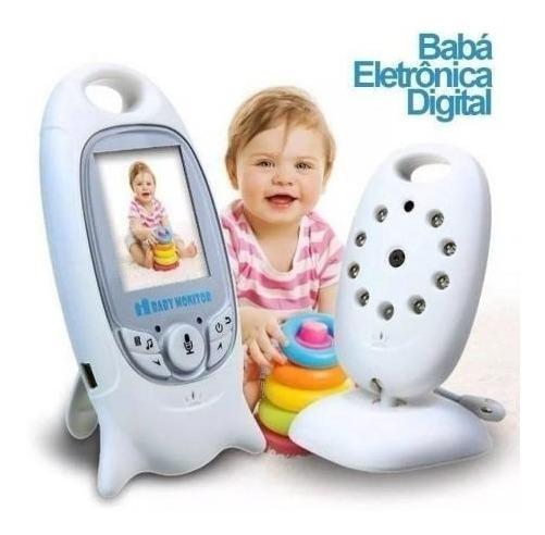 Babá Eletrônica Vídeo Voz Monitor Câmera Dia E Noite Bivolt