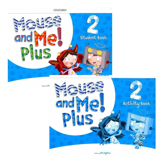 Mouse And Me Plus 2 - Student´s Book + Activity - Oxford