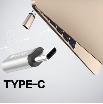 Usams Adaptador Micro Usb A Tipo C Macbook Y Otros.