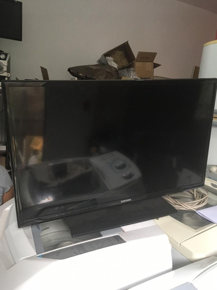 Tv Samsung Un32fh4205g Tela Quebrada Para Retira Peças