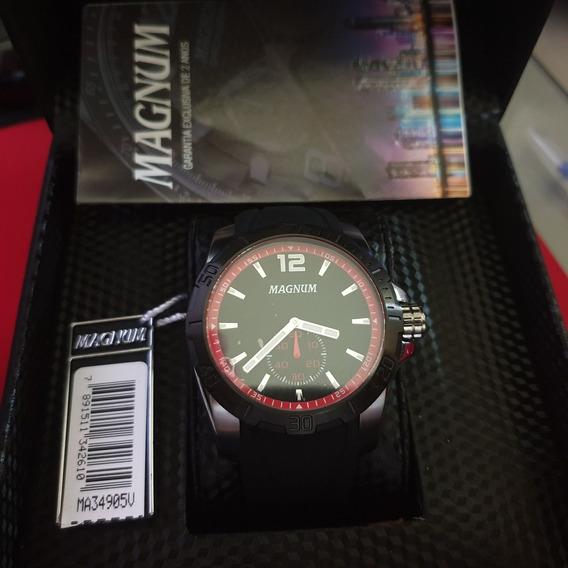 Relógio Masculino Magnum Analógico Esportivo Ma34905v