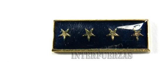 Distintivo De Antiguedad Policial Estrellas Años Pin
