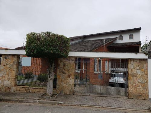 Sobrado Com 4 Dormitórios À Venda, 278 M² - Jardim Leonor Mendes De Barros - São Paulo/sp - So0417