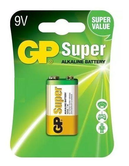 Kit 20 Pilhas Baterias 9v Alcalina Gp Super - 20 Cartelas Individuais