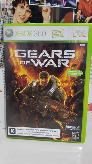 Gears Of War Midia Física Xbox 360 Original Pronta Entrega