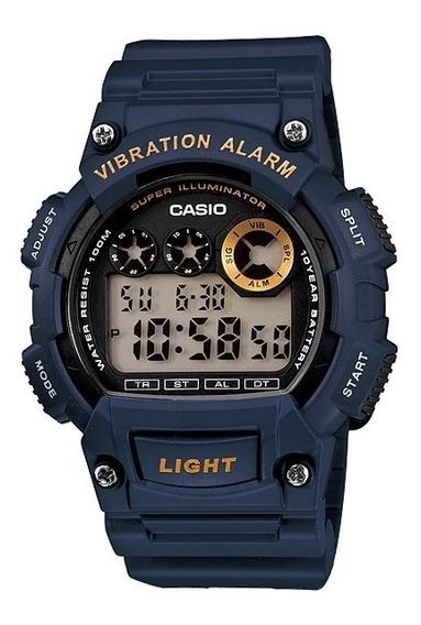 Reloj Casio Vibration Alarm W-735h-2av