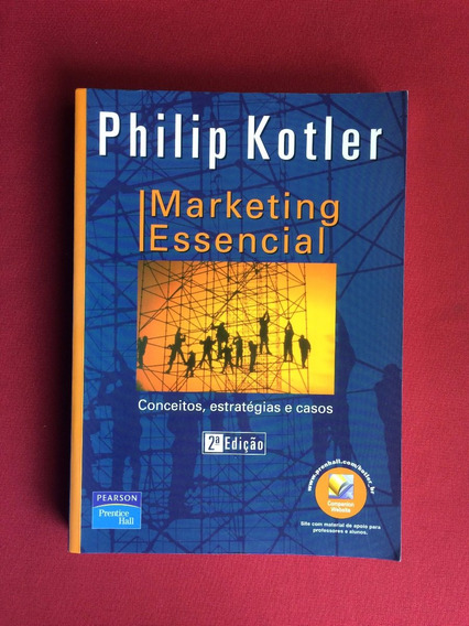 Livro - Marketing Essencial - Philip Kotler - Prentice Hall