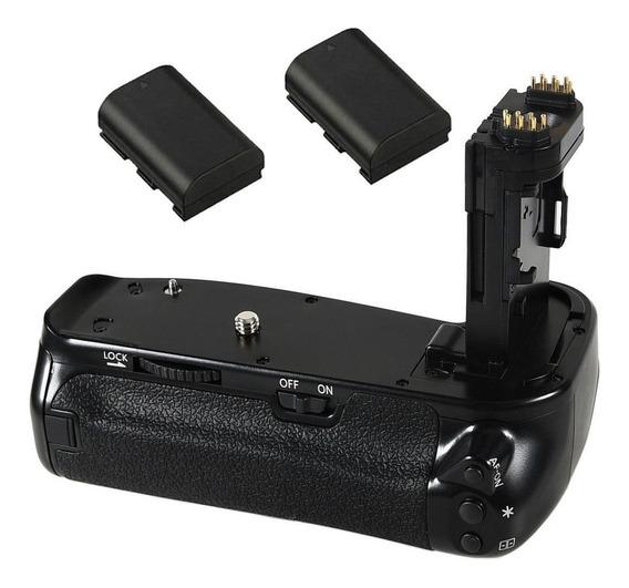 Grip Camera Canon Eos 6d Mark I Dslr + Bateria 2*lp-e6