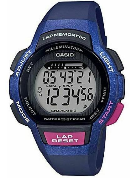 Relogio Casio Lws-1000h Lap Time ( Bateria Dura 10 Anos )