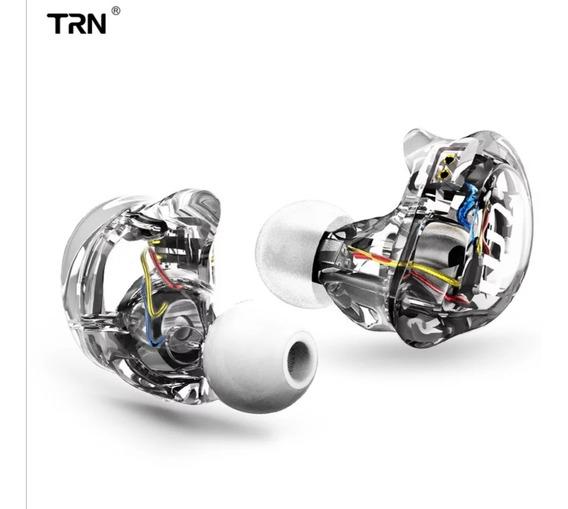 Fone Trn V10 Sem Mic 4 Drivers Transparente Frete Grátis