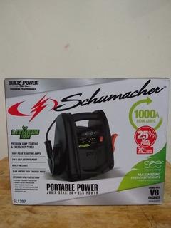 Arrancador Para Auto Marca Schumacher 1000 Amperes