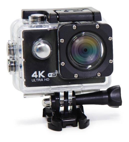 Action Câmera Sport Digital 4k 1080p Case A Prova Dágua Wifi