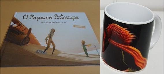 Livro - O Pequeno Príncipe - Capa Dura + Caneca