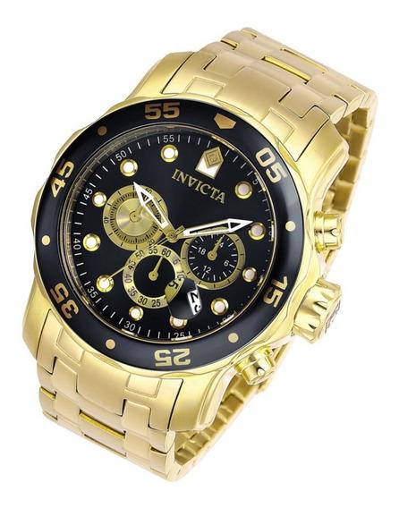 Relógio Invicta Pró Diver 28720 B.ouro 18k 48mm