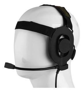Headset Tático Bowman Elite 2 Sem Ptt P/baofeng Airsoft