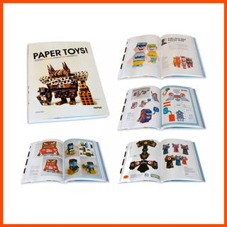 Libro We Are Paper Toys: Print-cut-fold-glue-fun