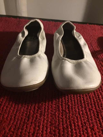 Zapatos Cuero Blanco Mara