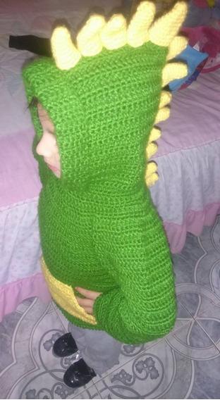 Sueter De Dinosaurio Tejido / Crochet Varios Colores