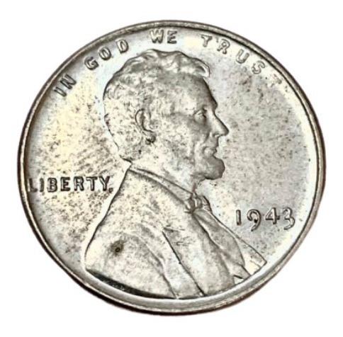 Estados Unidos - 1 Cent - Año 1943 - Ceca S - Zinc - Lincoln