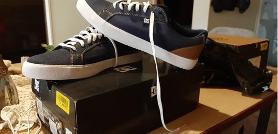 Zapatilla Azul Dc Shoes Lynnfield Tx Se