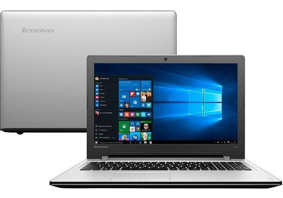 Notebook Lenovo 300-15isk Core I5 4gb 1tb Tela 15.6 W10
