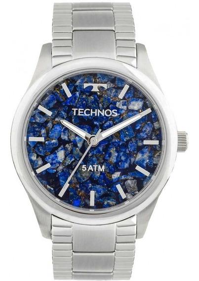 Relógio Technos 2033co/1g Prata Analógio Original