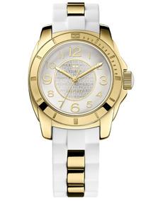 Relógio Tommy Hilfiger Th1781309 Orig Chron Anal Gold White