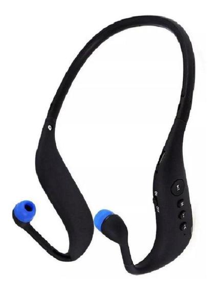 Fone De Ouvido Sport S/ Fio Sd Mp3 Fm Bluetooth Ativ. Física