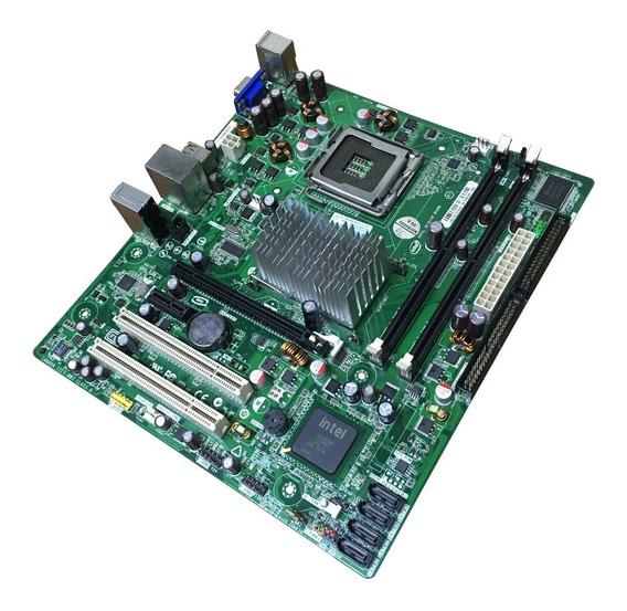 Placa Mãe Intel Desktop Board Dg31pr Lga 775 *defeito Video*